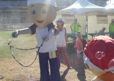 BHP Billiton Christmas Party at Claremont Showgrounds