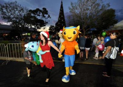 Kalgoorlie Christmas Tree Street Party