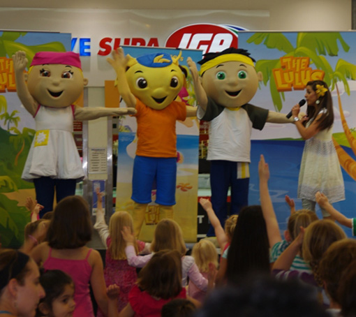 Shopping Centre Kids Shows Perth