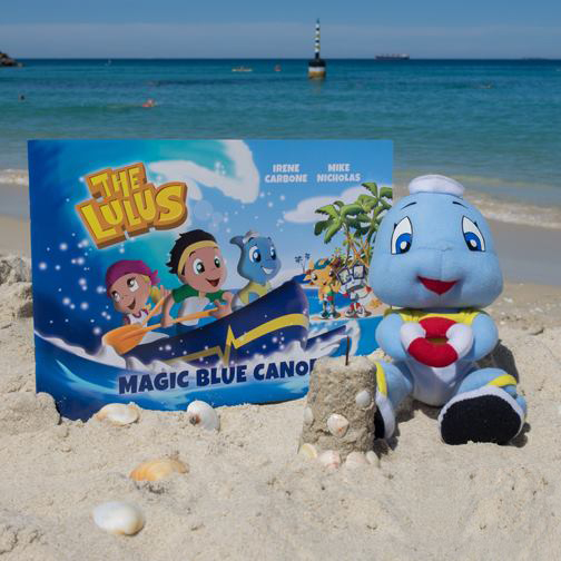 Fin the Baby Shark and Magic Blue Canoe Book