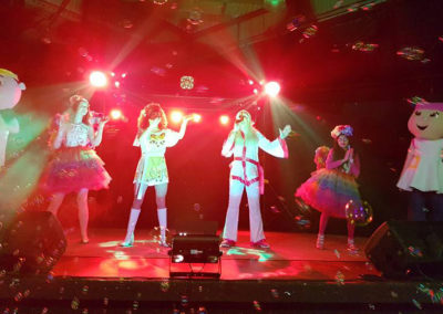 The Lulus join the Abba Show