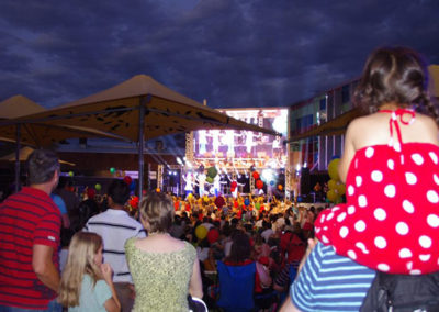 New Year's Eve in Northbridge Piazza