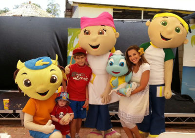 Party at Adventure World for Princess Margaret Hospital kids