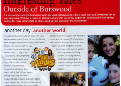 The Burswood Buzz Magazine