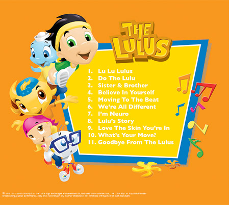 The Lulus CD back