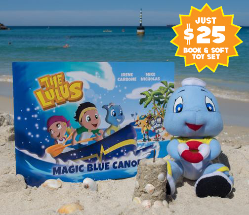 Fin the Baby Shark Soft Toy & Book Gift Pack