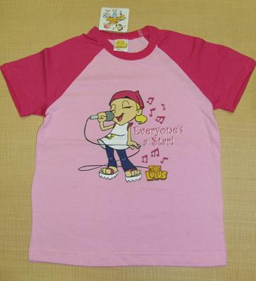 Lu Girl Pink T-Shirt